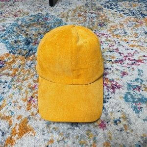 Forever 21 cap in yellow